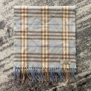BURBERRY AUTHENTIC CASHMERE CHECK SCARF